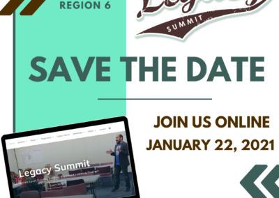 2021 Legacy Summit Save the Date